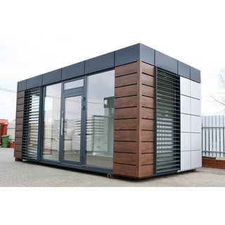 Bürocontainer / Wohncontainer / Gewerbecontainer - Modell Exclusive - EnEV konform